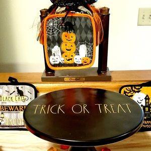 Rae Dunn Halloween Cake Stand